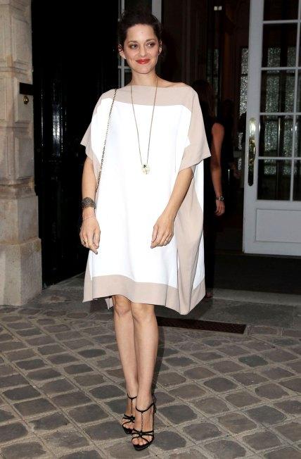 MARION COTILLARD at Christian Dior Party