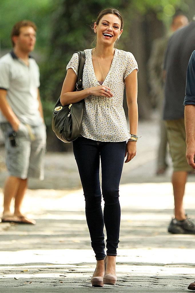 Queen Of The Week Mila Kunis B As Blonde