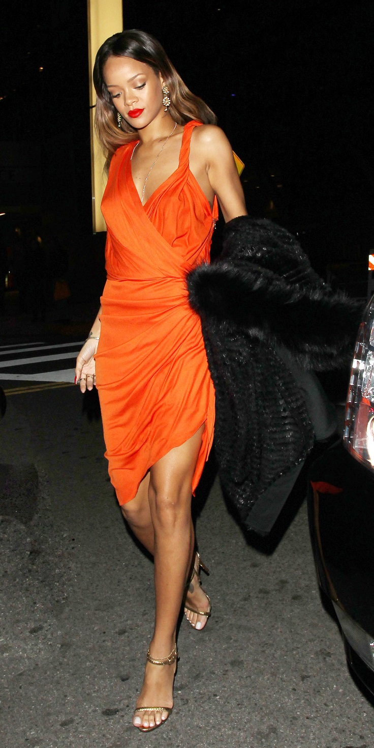 Top 10 Best Rihanna's Outfits of 2013 - Top Inspired |Rihanna 2013